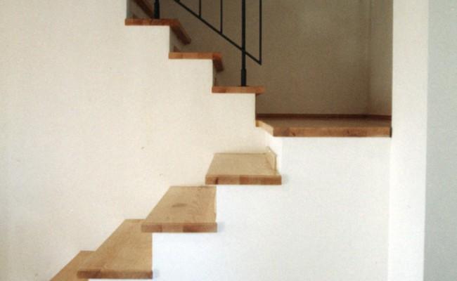 Hofbebauung Treppe