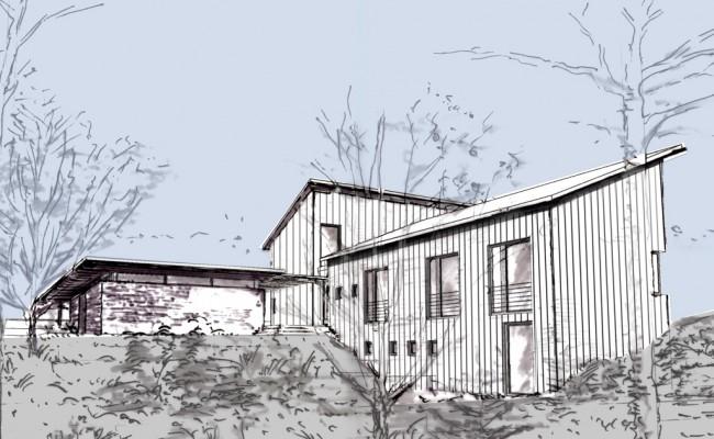 Einfamilienhaus Entwurf