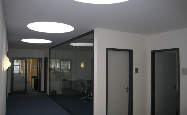 Verwaltungsgebäude innen