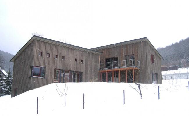 Einfamilienhaus außen