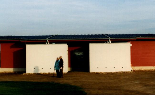 Mittelteil WC und Golfshop