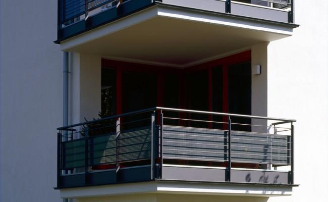 Mehrfamilienhaus Balkone