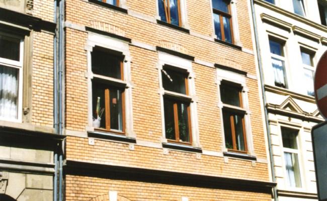 Gereonswall Fassade neu