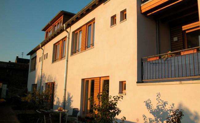 Hofbebauung Fassade