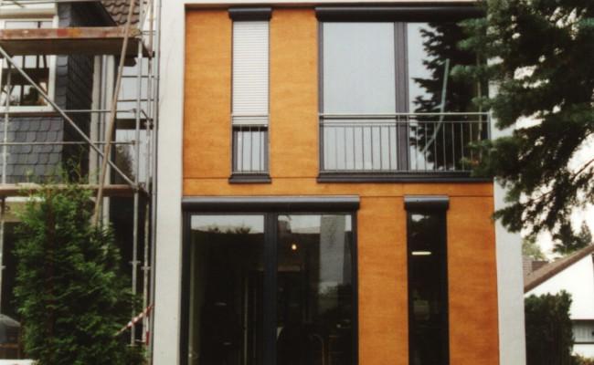 Wohnhaus Garten