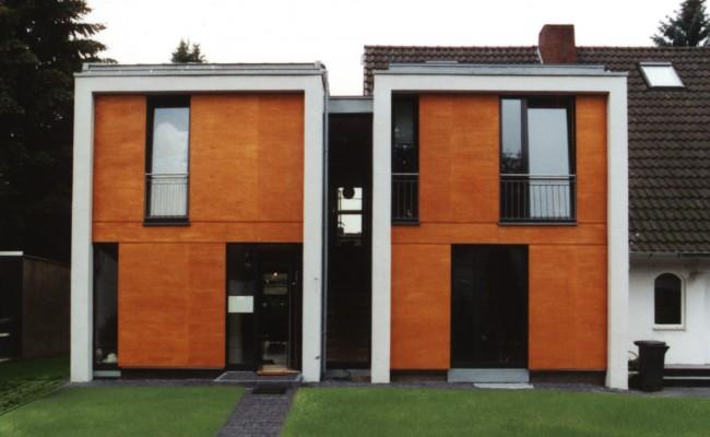 Wohnhaus außen Straße