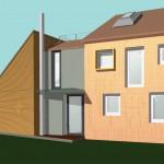 2010 Anbau Doppelhaushälfte