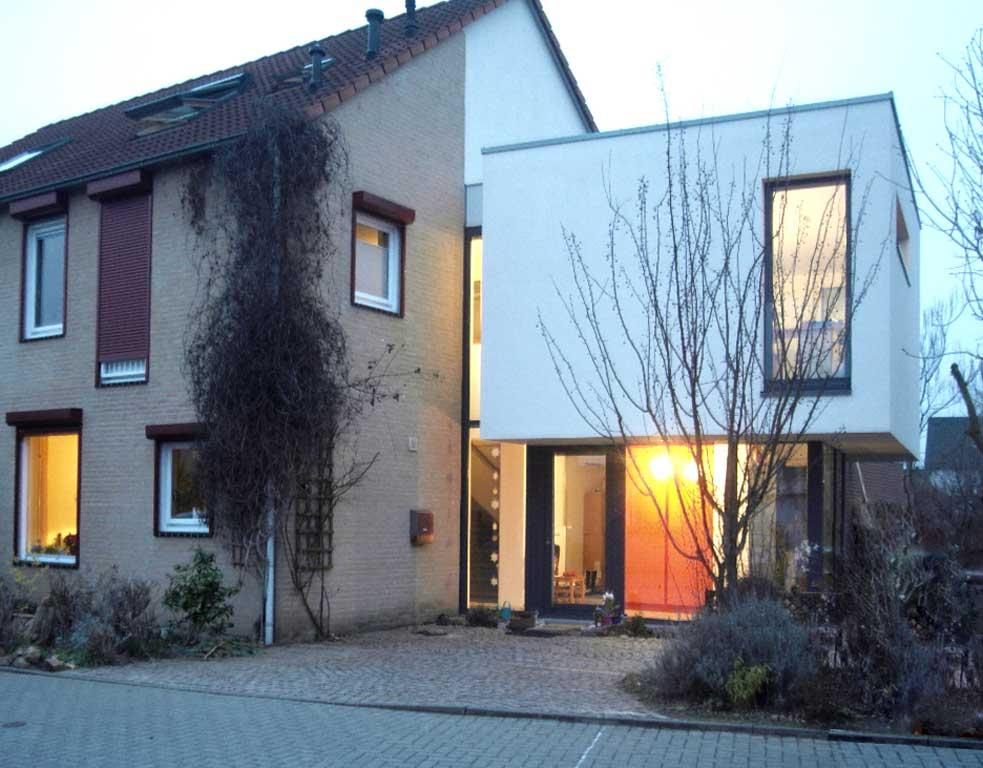 Anbau An Eine Doppelhaushälfte Poggel Architekten