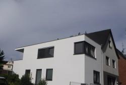 An- & Umbau von einem Ein- zum Zweifamilienhaus